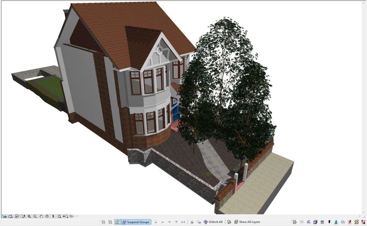 Site BIM modeling in UK