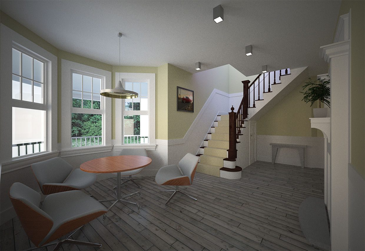 Interior render by ArchicadTeam.com