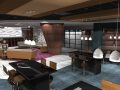 Coffee lounge ( render of Archicad model) by ArchicadTeam.com