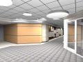 Corridor ( render of Archicad model ) by ArchicadTeam.com