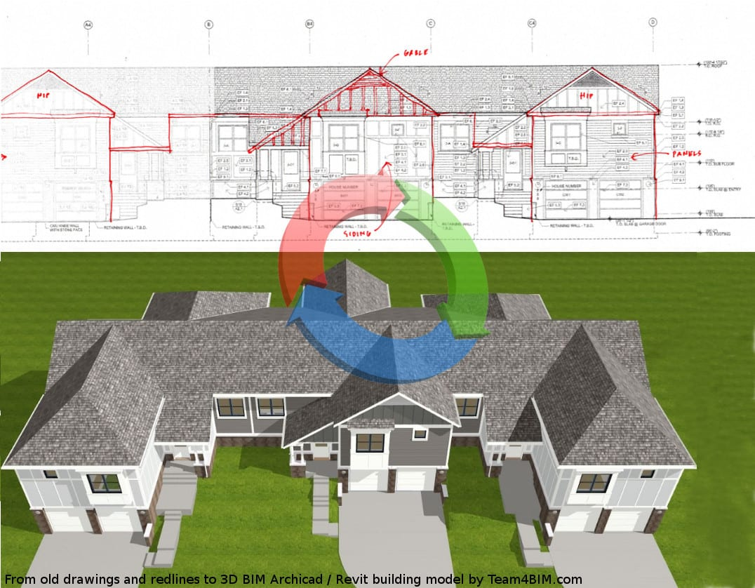 Survey data to Archicad BIM or SketchUp model | Professional CAD