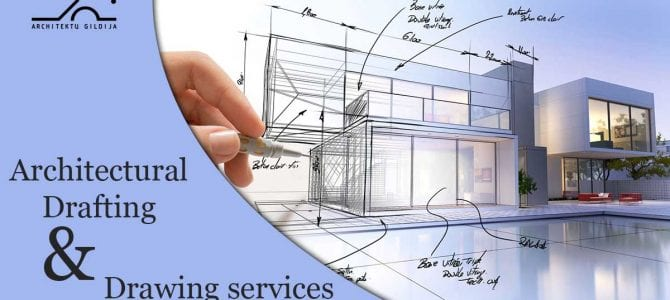 Architectural drafting & drawing services